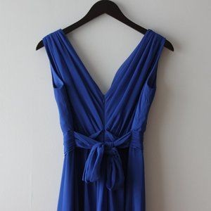 Blue Evening Dress